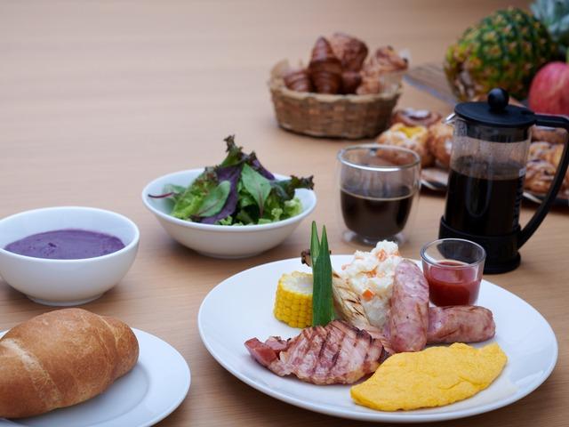 ホテルサンセットヒル 朝食一例